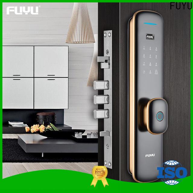 FUYU custom biometric fingerprint door lock on sale for residential