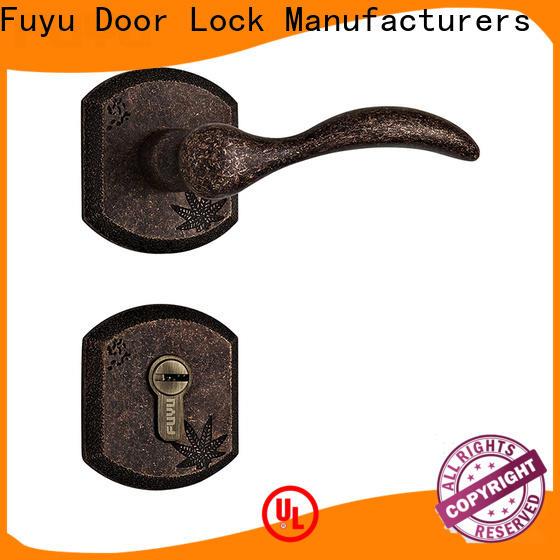 FUYU custom front door security lock for sale for entry door