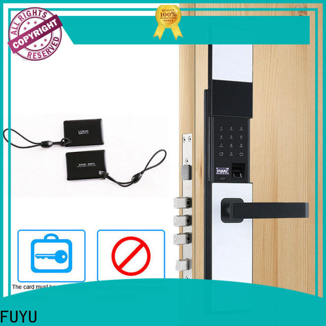 FUYU high tech digital keypad door lock manufacturer for home