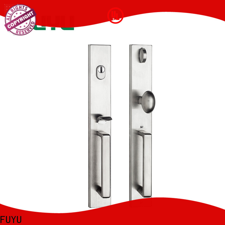 FUYU quality wholesale stainless steel door lock with international standard for residential