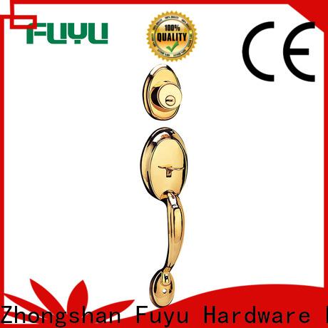 custom best front door locks test with latch for indoor
