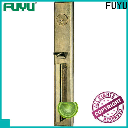 FUYU plate zinc alloy mortise door lock meet your demands for indoor