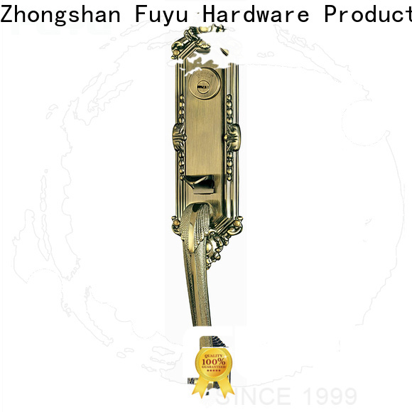 FUYU oem security door locks for homes with latch for indoor