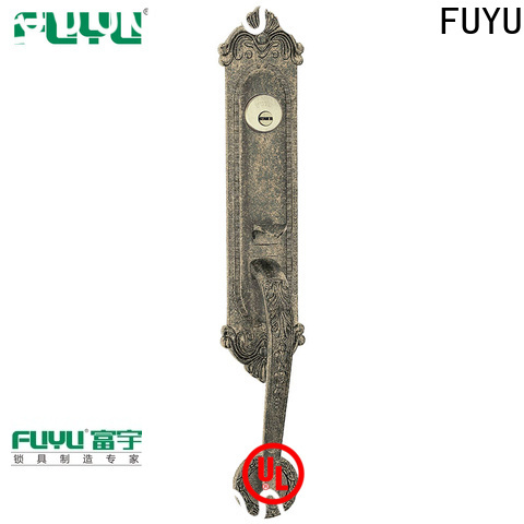 FUYU chinese american style zinc alloy door lock on sale for entry door