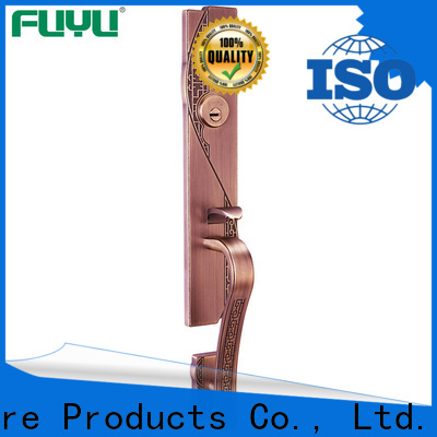 FUYU color zinc alloy entry door lock with latch for shop