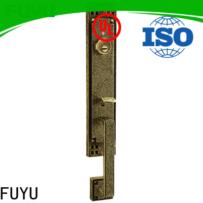 FUYU solid best front door locks with latch for mall