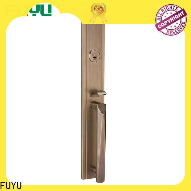 FUYU oem zinc alloy door lock for wooden door meet your demands for indoor