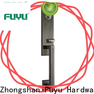 FUYU oem zinc alloy door lock for timber door on sale for shop