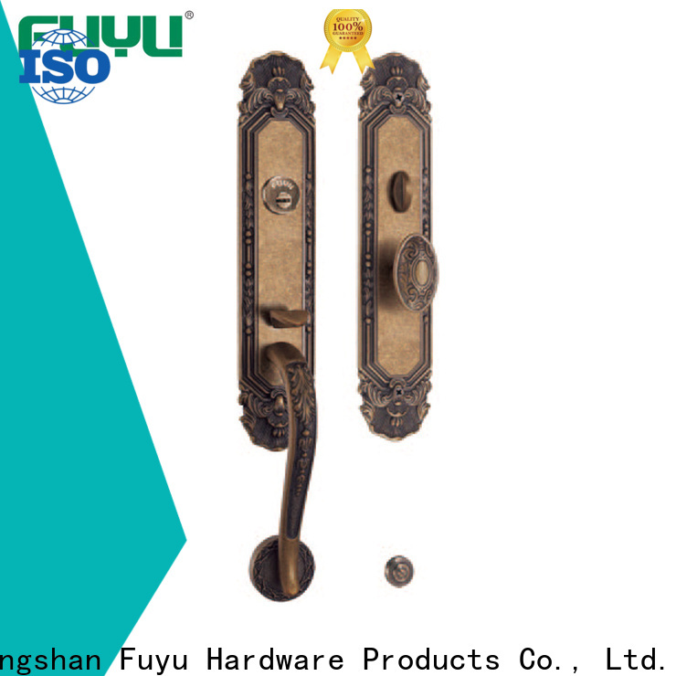 FUYU high security mortise locks with latch for wooden door