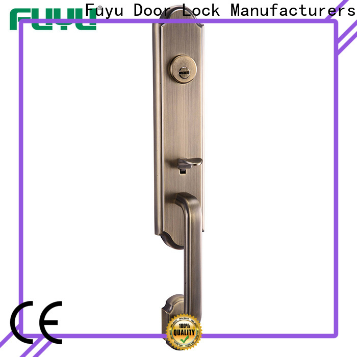 FUYU high security best home door locks with latch for mall