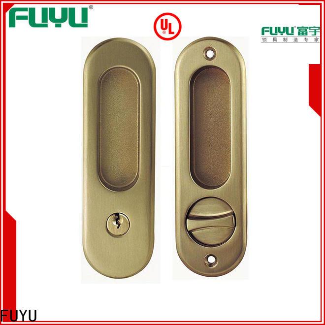 FUYU install anti-theft zinc alloy door lock on sale for entry door
