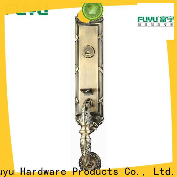 custom grip handle door lock manufacturer for entry door