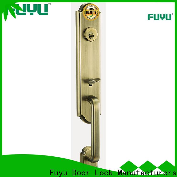 FUYU quality entry door locks manufacturer for wooden door