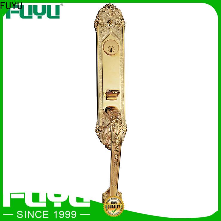 FUYU high security entry door locks manufacturer for shop