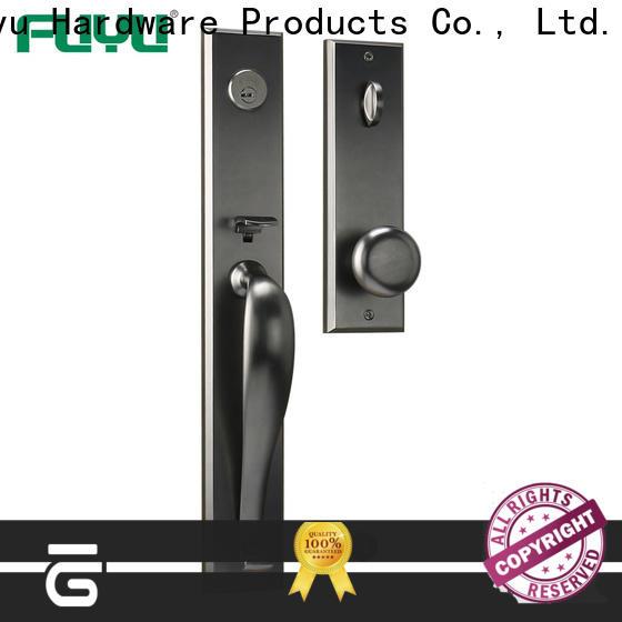 FUYU handle door lock manufacturer for mall