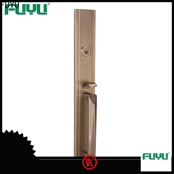 FUYU high security entry door locks manufacturer for home