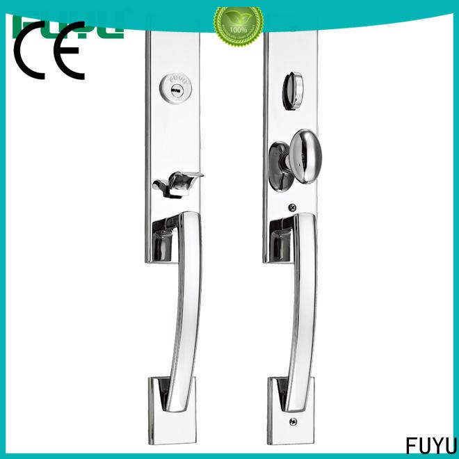 FUYU handle door lock supplier for home