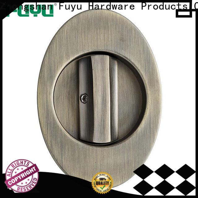FUYU oem zinc alloy handle door lock on sale for entry door