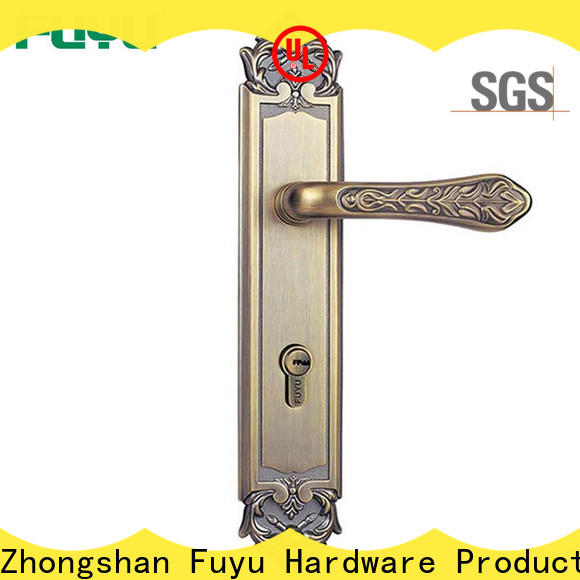 durable apartment door locks cylinder with latch for mall