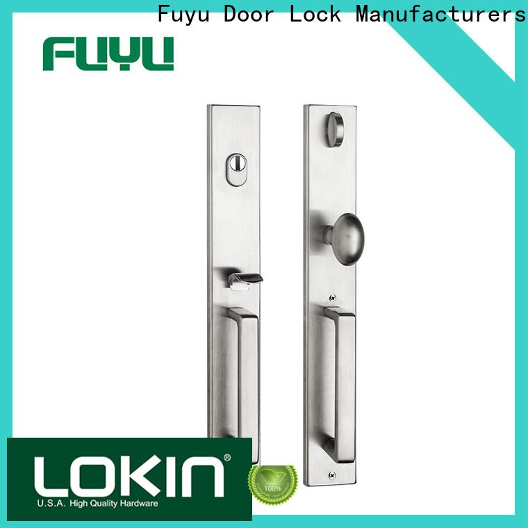FUYU custom grip handle door lock supplier for shop