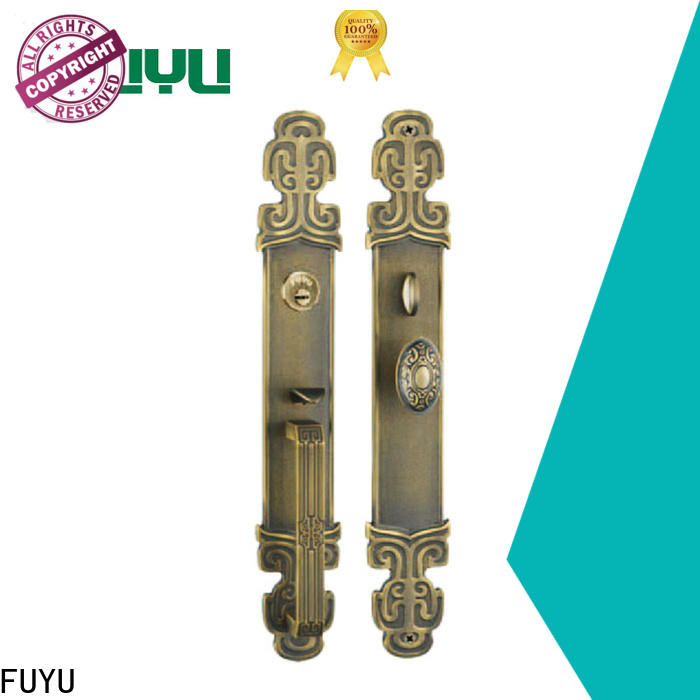 FUYU quality high security door locks manufacturer for residential