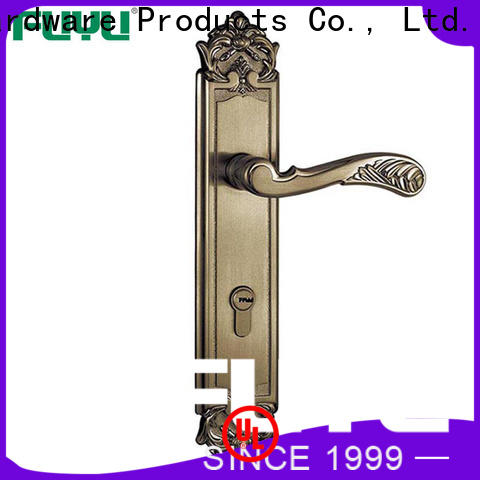 FUYU mortise handle lock with international standard for mall