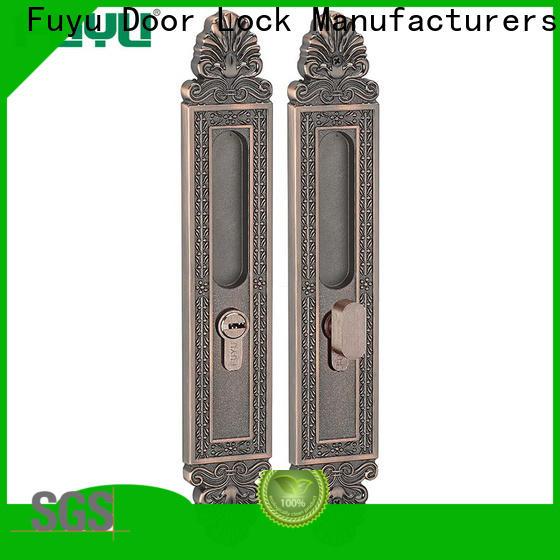 FUYU slide bolt lock supplier for entry door