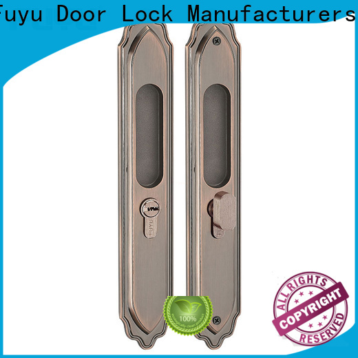 FUYU double sliding door lock for sale for home