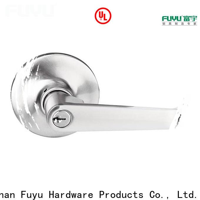 FUYU custom zinc alloy door lock wholesale on sale for indoor