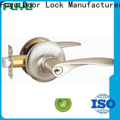 FUYU door handles and locks with international standard for toilet
