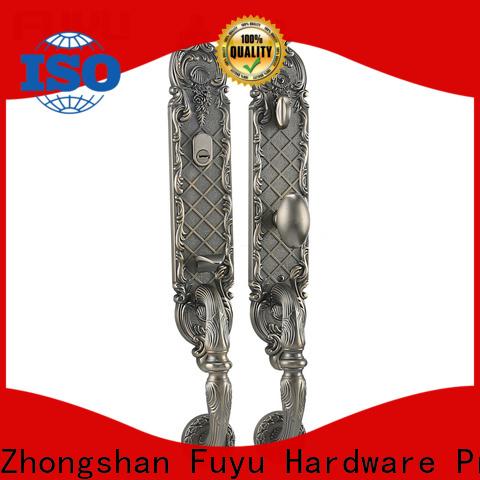 FUYU grip handle door lock for sale for entry door