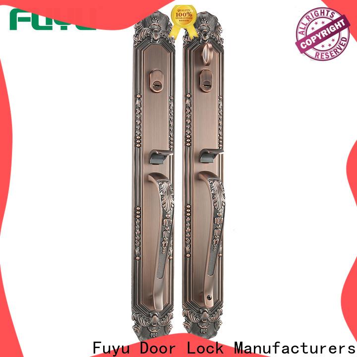 FUYU custom zinc alloy door lock for metal door on sale for indoor