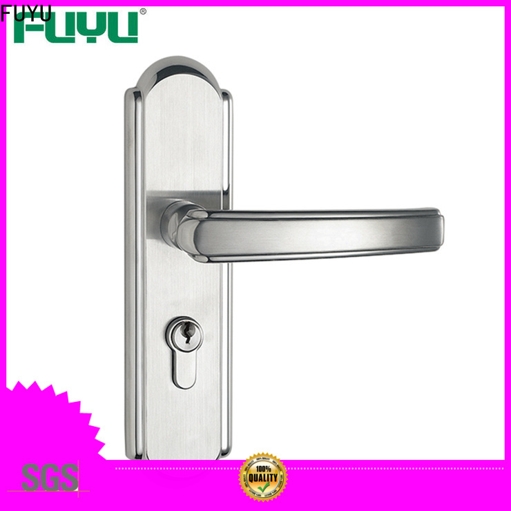 FUYU custom mortise handle lock extremely security for wooden door