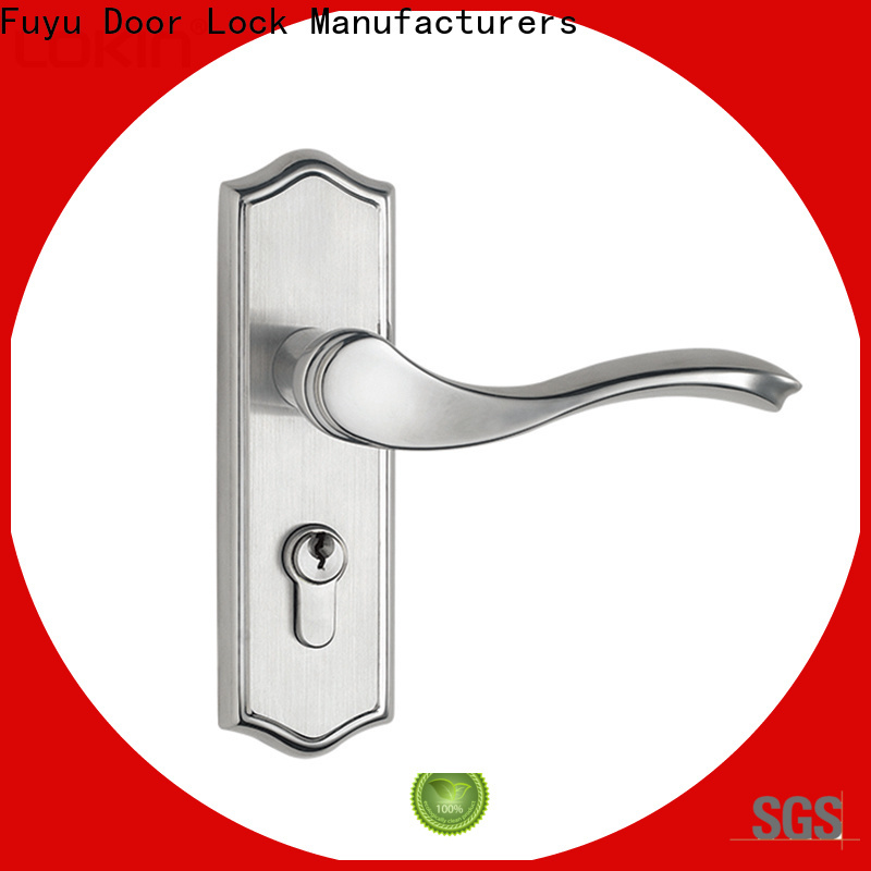 FUYU security stainless steel lock with international standard for home