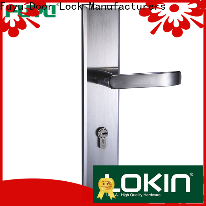 FUYU electric custom stainless steel door lock on sale for mall