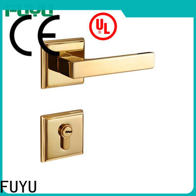 FUYU durable interior door locks meet your demands for mall