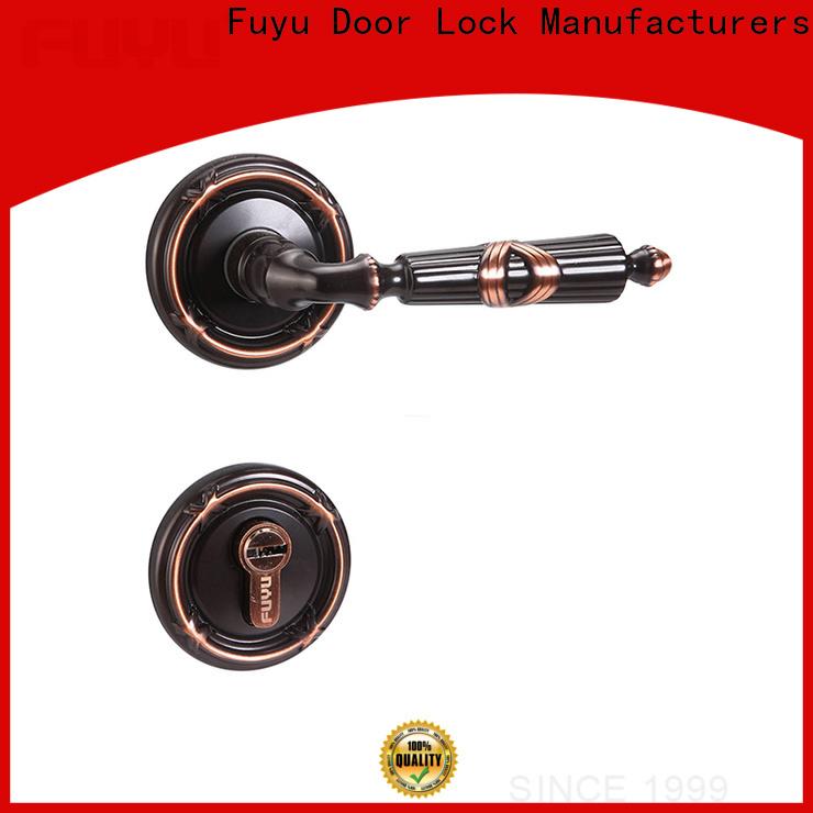 FUYU quality bronze door lock meet your demands for mall