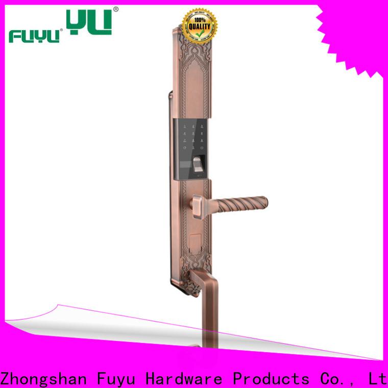 durable biometric lock with international standard for wooden door