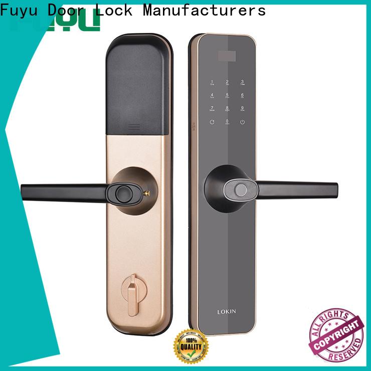 FUYU oem smart home door lock for home