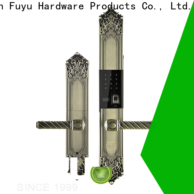 FUYU online electronic keypad door lock with international standard for entry door