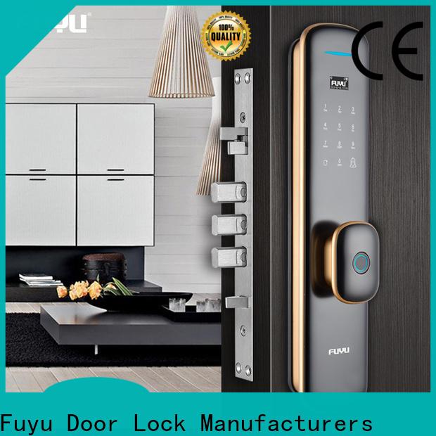 FUYU fingerprint access door lock manufacturer for mall