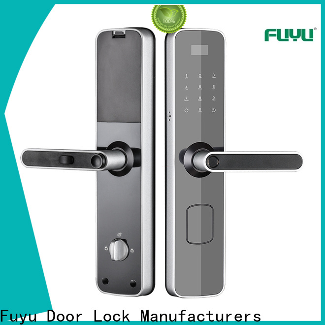 FUYU fingerprint house door lock with international standard for home