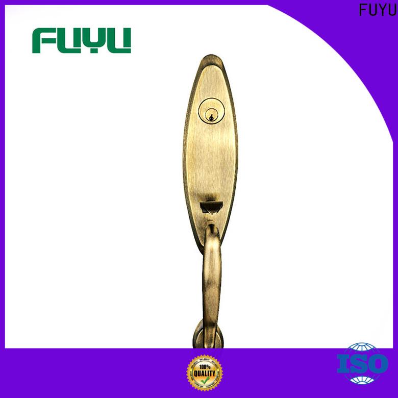 FUYU custom gate door lock meet your demands for shop