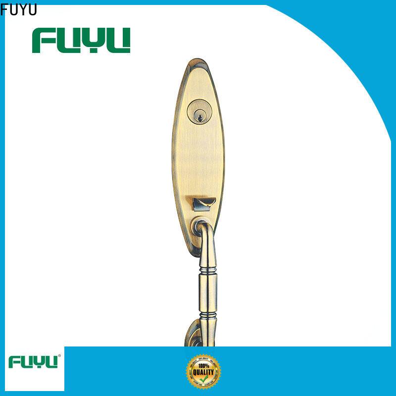 FUYU lock zinc alloy lock with latch for mall