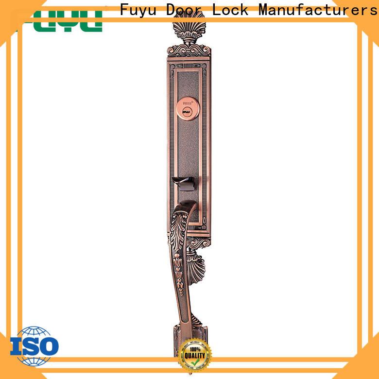 custom zinc alloy door lock for metal door finish meet your demands for mall