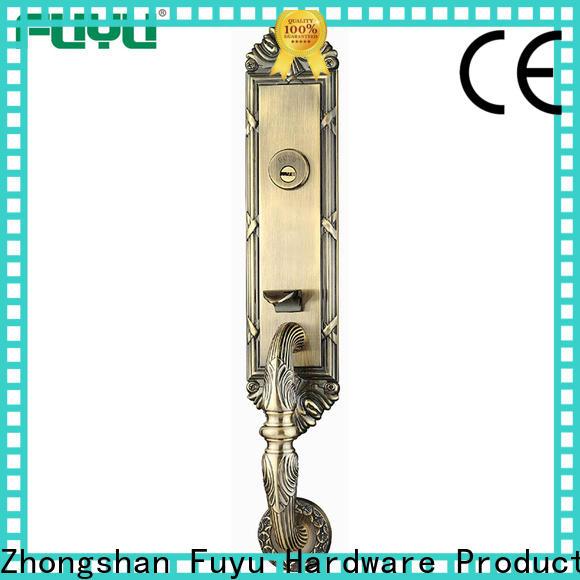 custom simple door lock solid with latch for entry door