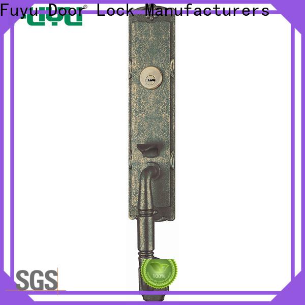 FUYU custom zinc alloy handle door lock meet your demands for indoor