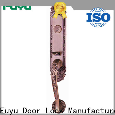 FUYU custom apartment door locks with latch for entry door