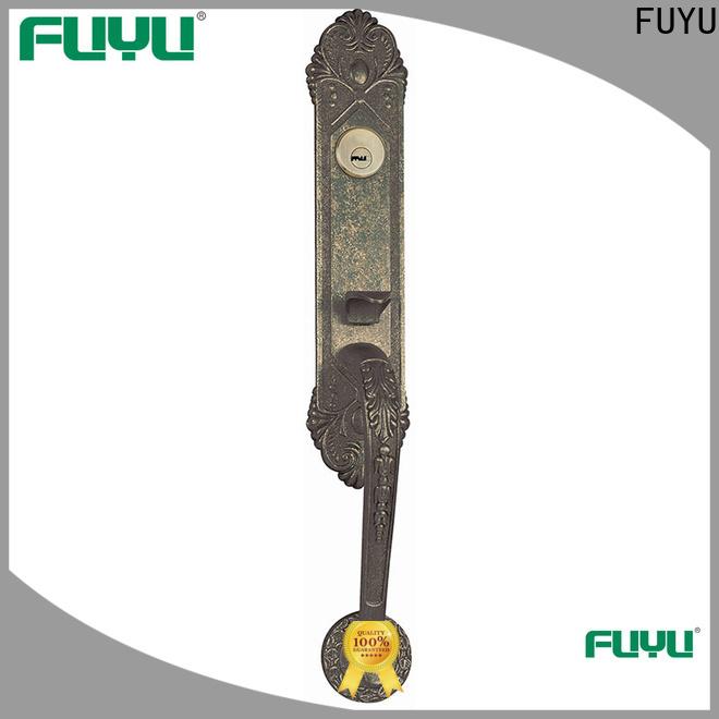 FUYU key custom zinc alloy door lock meet your demands for shop