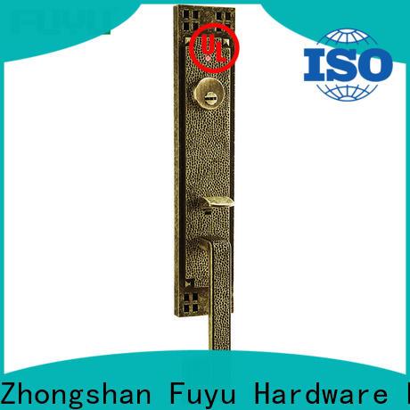 FUYU durable zinc alloy door lock for timber door with latch for indoor